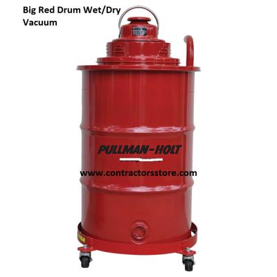 Pullman Holt Big Red Drum Commercial Vacuum Wet Dry